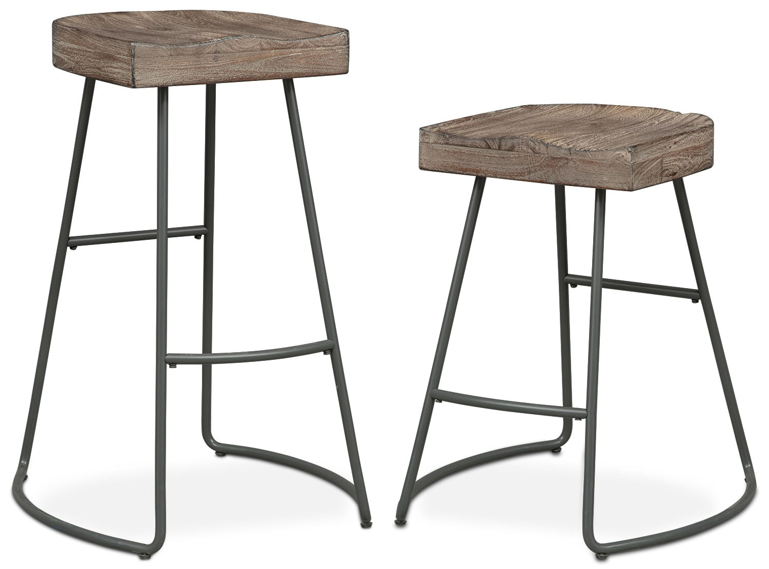 The Foundry Collection - Distressed Wood