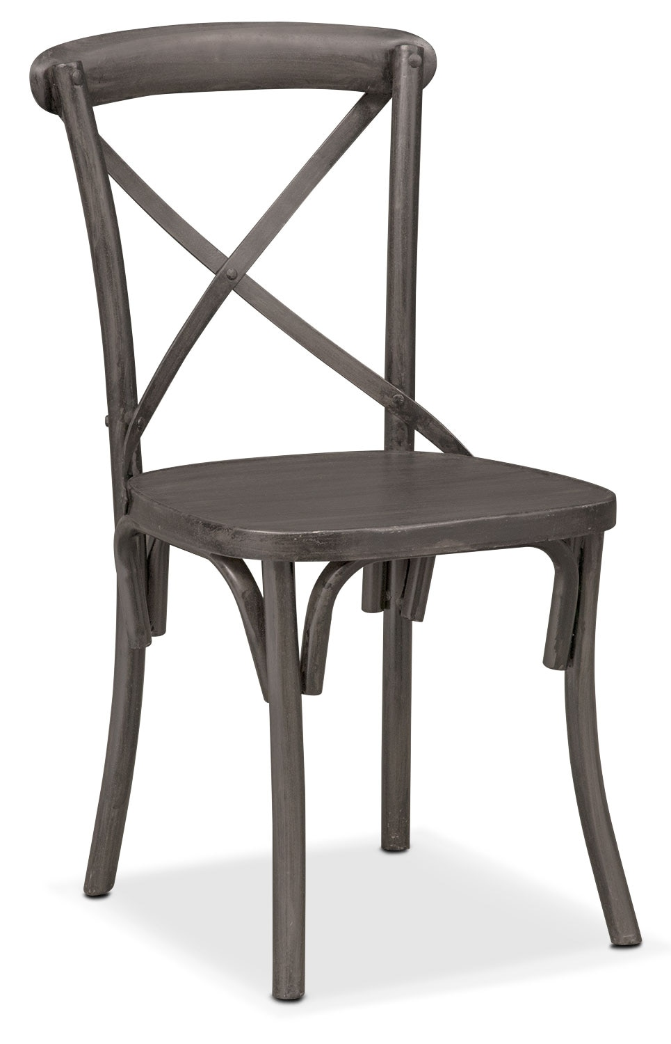 Dining Room Furniture - Braddock Side Chair - Black