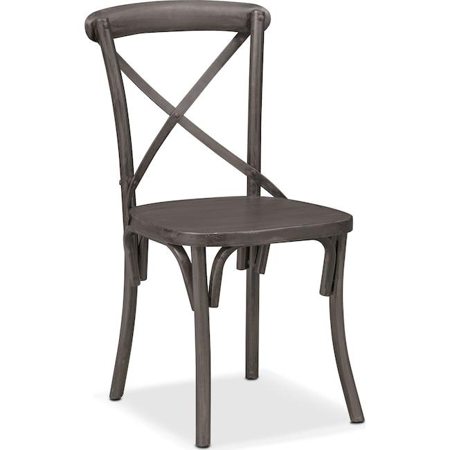 Dining Room Furniture - Braddock Side Chair - Black