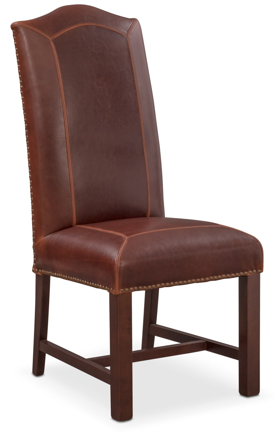 Dining Room Furniture - Cloister Side Chair - Brown