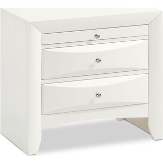 Braden Nightstand - White