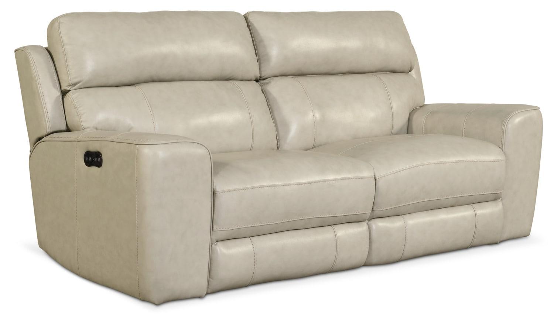 Newport 2-Piece Power Reclining Sofa - Cream