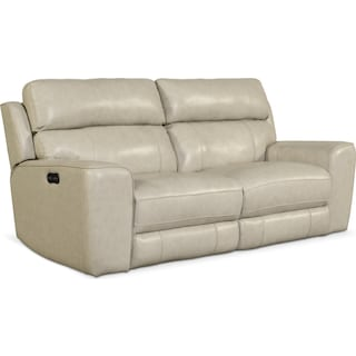 Newport 2-Piece Power Reclining Sofa - Cream