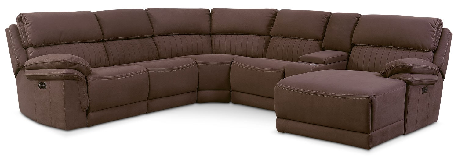 Hover to zoom  sc 1 st  Value City Furniture : 6 piece sectional sofa - Sectionals, Sofas & Couches