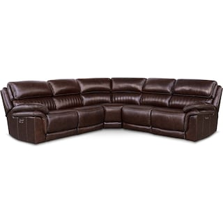Monterey 5-Piece Power Reclining Sectional with 3 Reclining Seats