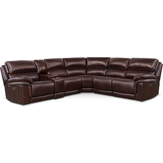 Monterey 6-Piece Power Reclining Sectional with 2 Reclining Seats