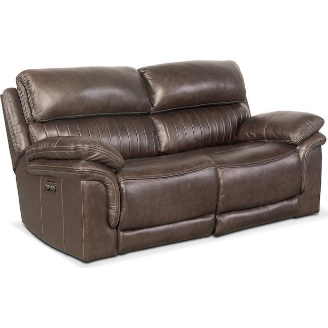 Living Room Furniture - Monterey 2-Piece Power Reclining Loveseat