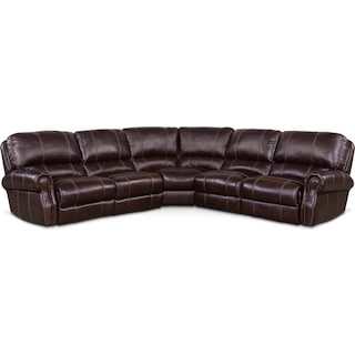 Dartmouth 5-Piece Power Reclining Sectional with 2 Reclining Seats