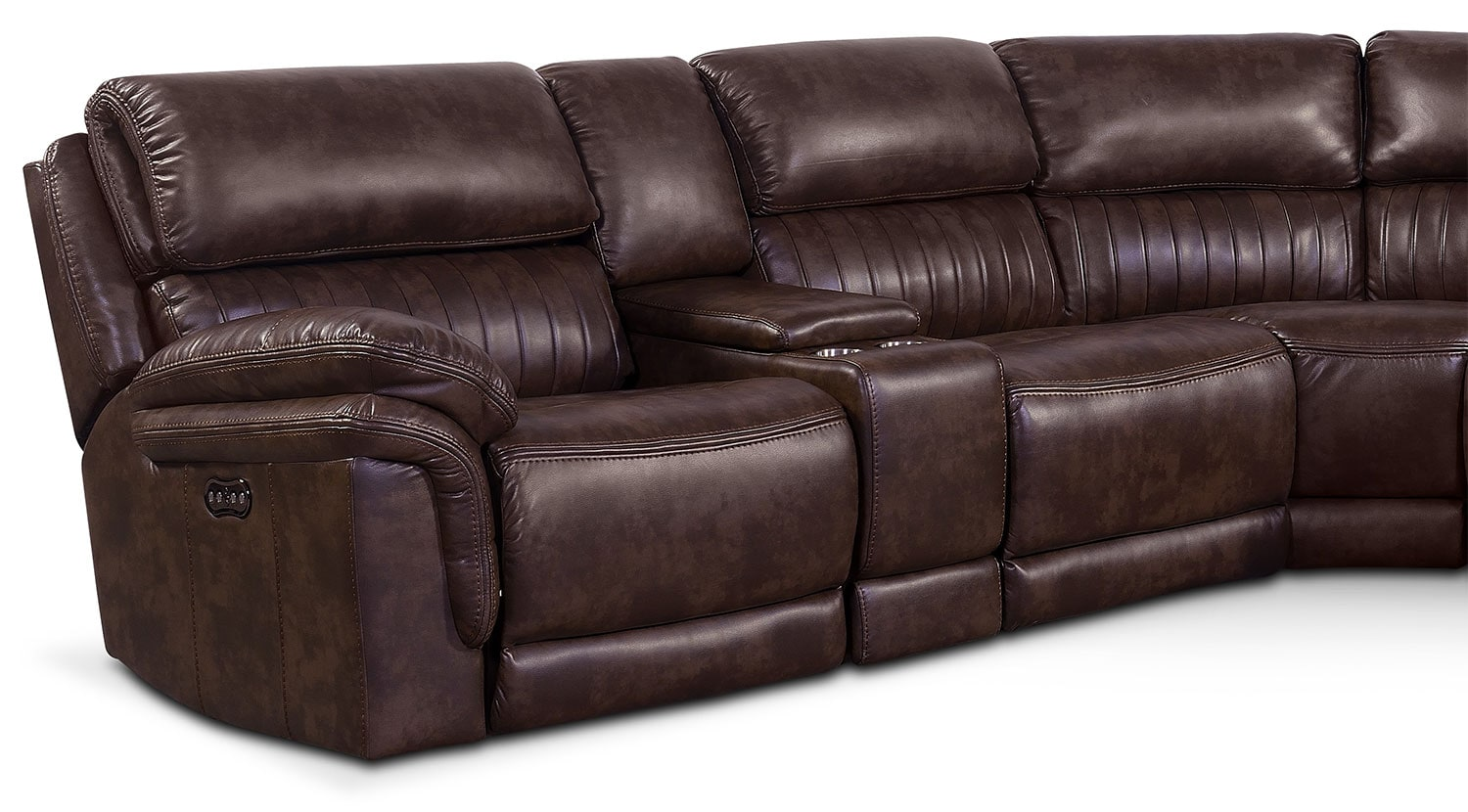 Monterey 6 Piece Power Reclining Sectional With 3