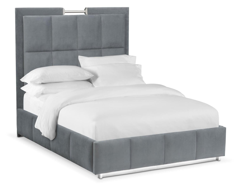 Sonata King Bed - Gray
