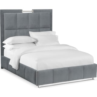 sonata king bed gray