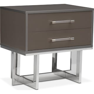 Sonata Nightstand - Gray