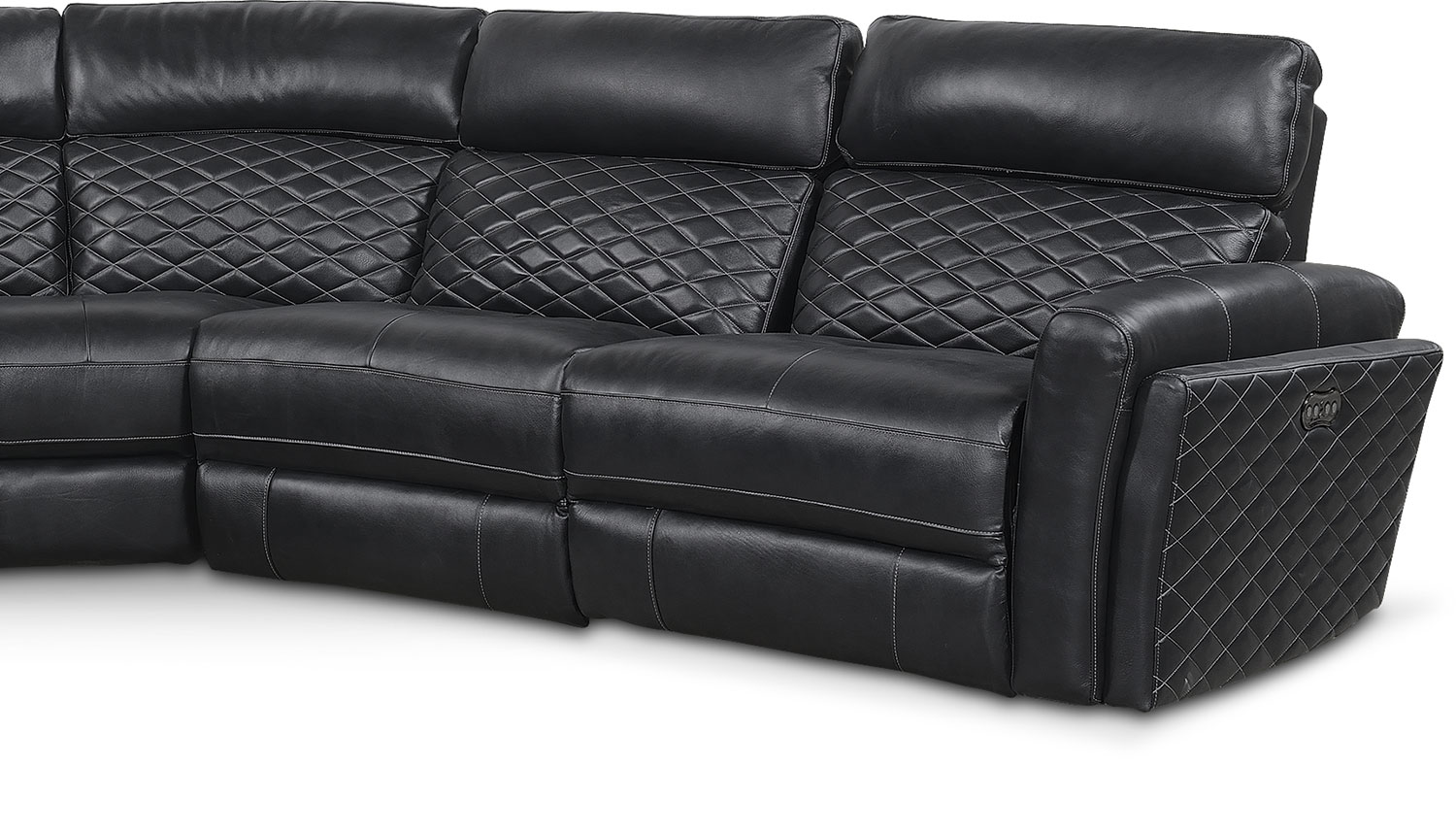 Catalina 6 Piece Power Reclining Sectional With 2