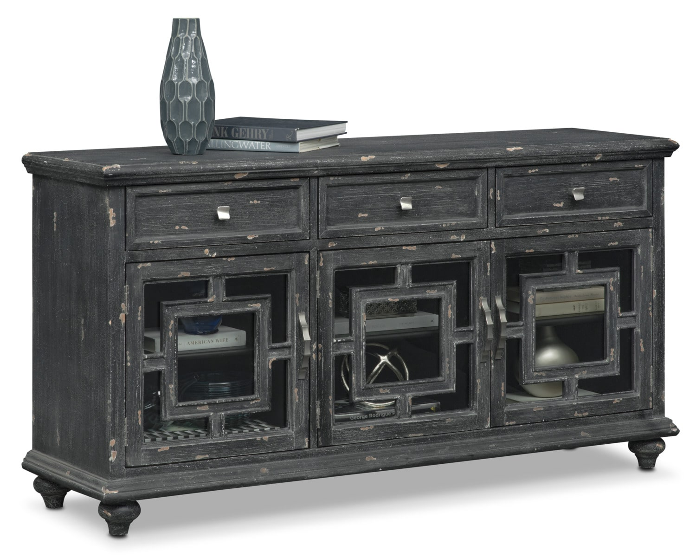 Accent and Occasional Furniture - Regina Sideboard - Black