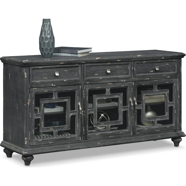 Accent and Occasional Furniture - Regina Sideboard - Black