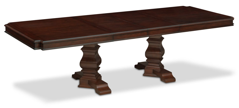 Dining Room Furniture - Vienna Rectangular Dining Table - Merlot
