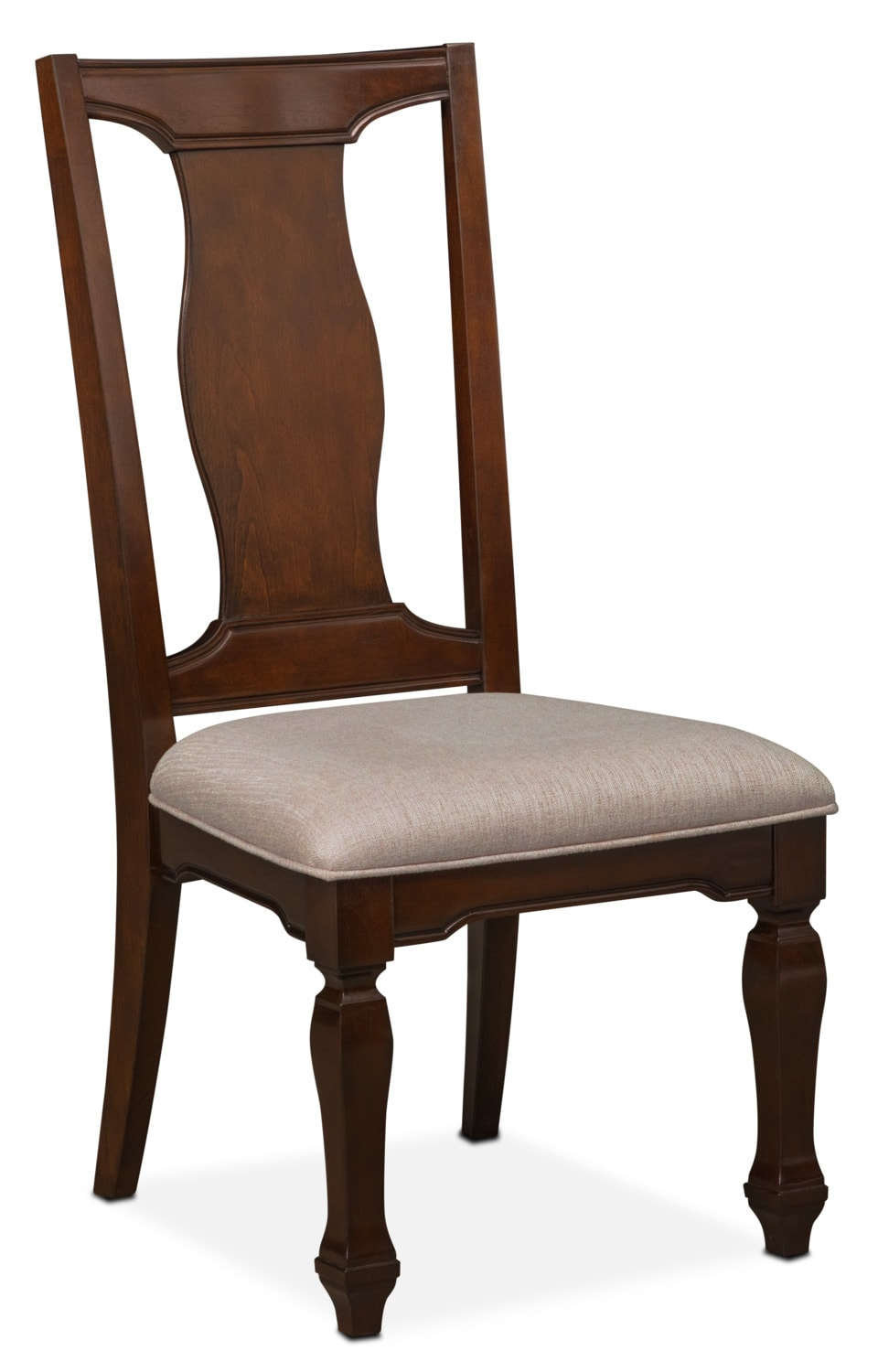 Dining Room Furniture   Vienna Side Chair   Merlot