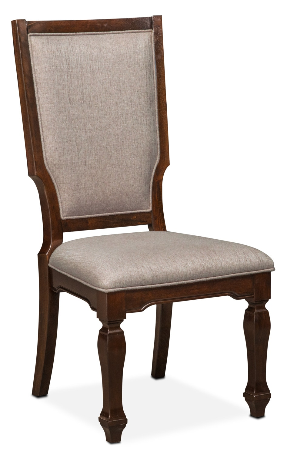 Dining Room Furniture - Vienna Upholstered Side Chair - Merlot
