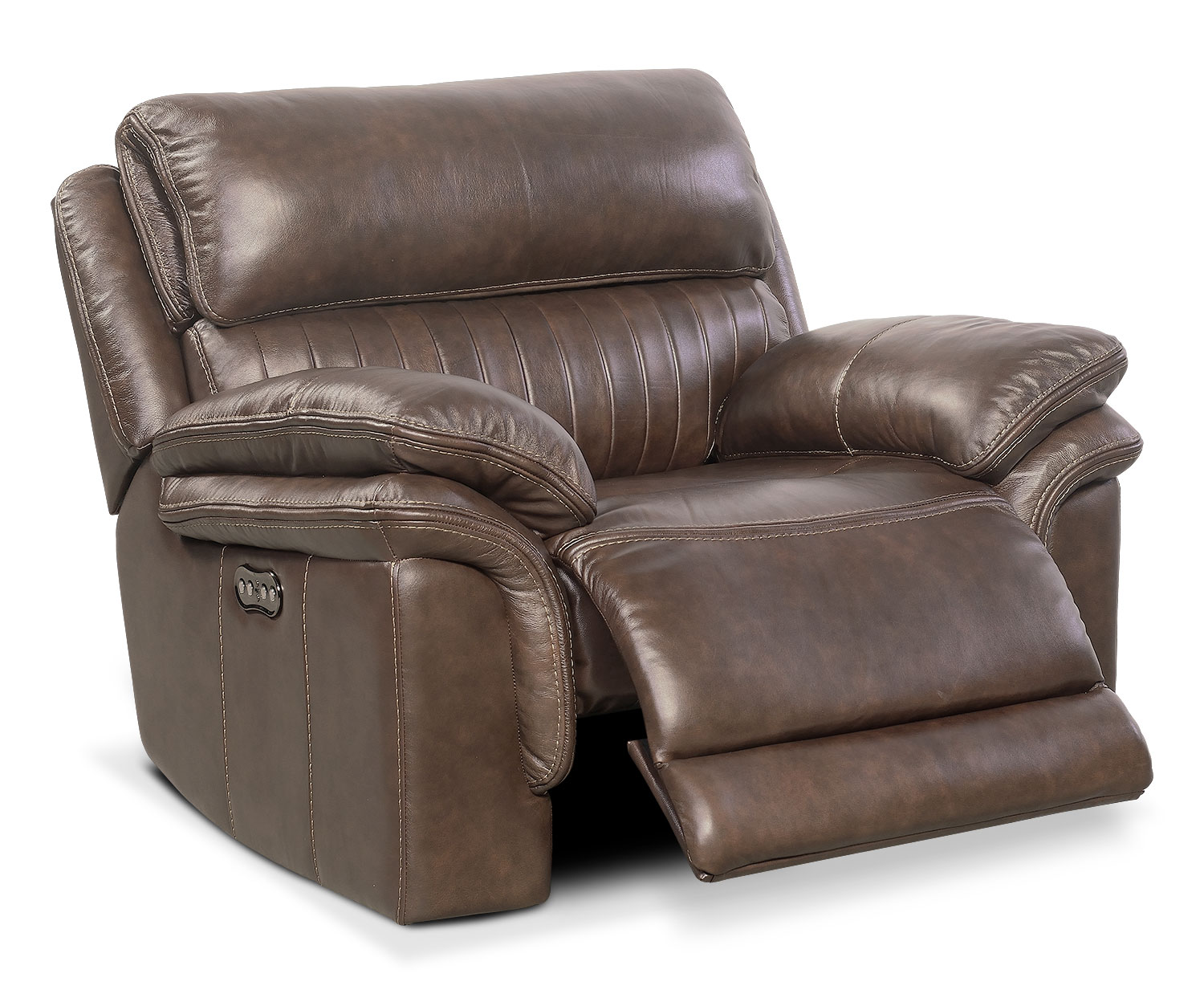 Monterey Power Recliner - Brown by One80  sc 1 st  Value City Furniture & Monterey Power Recliner - Brown | Value City Furniture islam-shia.org