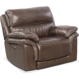 Monterey Power Recliner - Brown
