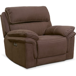 Monterey Power Recliner - Mocha