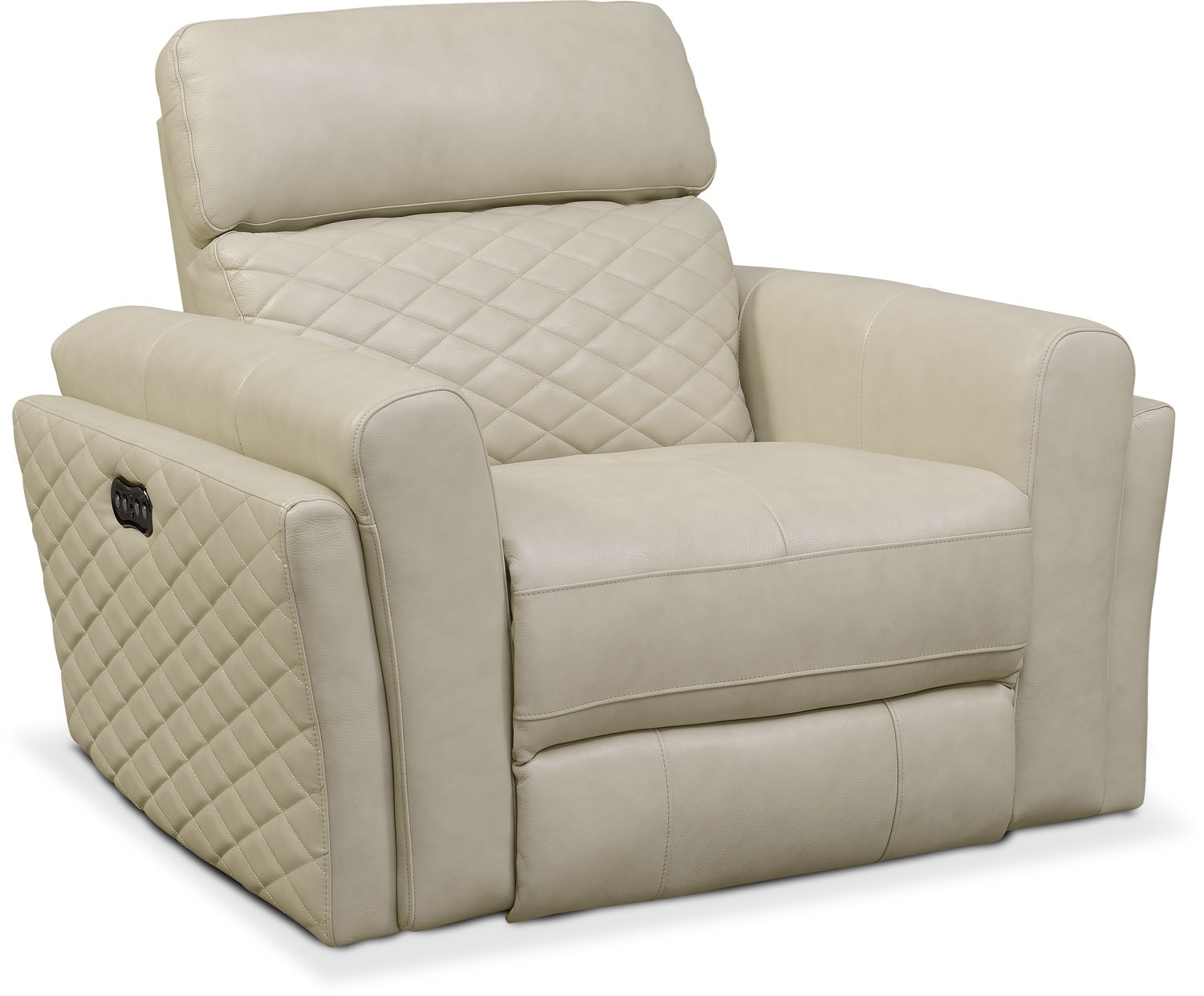 Catalina Power Recliner - Cream  sc 1 st  Value City Furniture & Recliners and Glider Chairs | Value City | Value City Furniture islam-shia.org