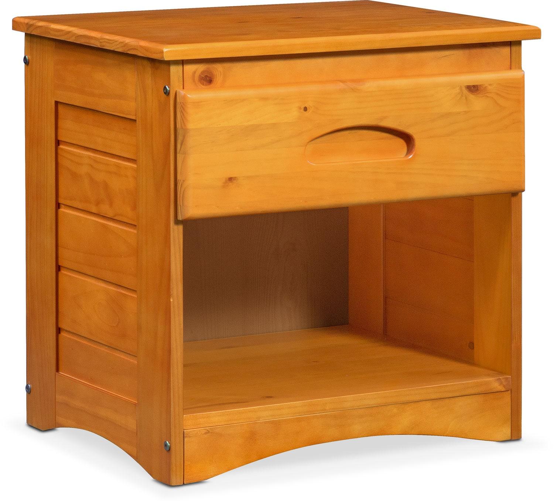 Kids Furniture - Ranger Nightstand - Pine