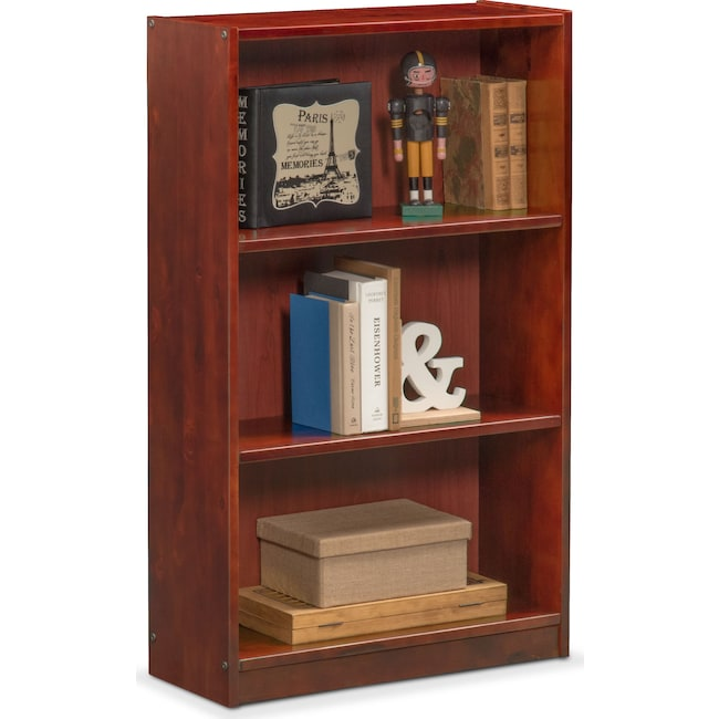 Kids Furniture - Ranger Bookcase - Merlot