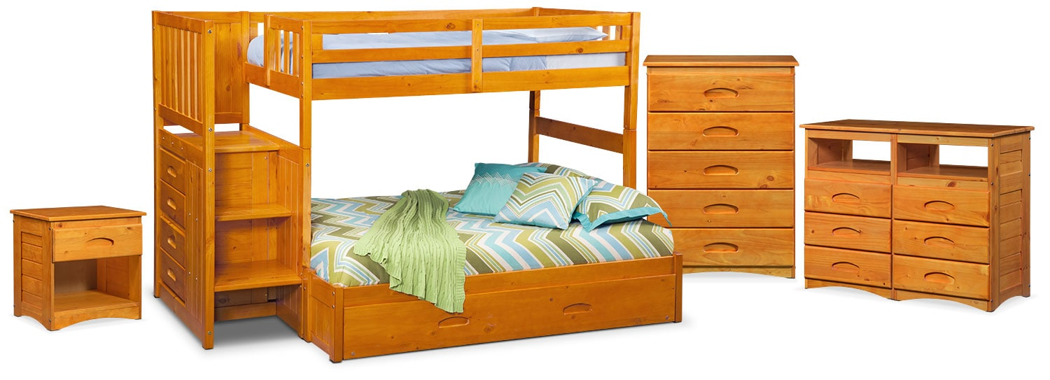 The Ranger Bunk Bed Collection Pine