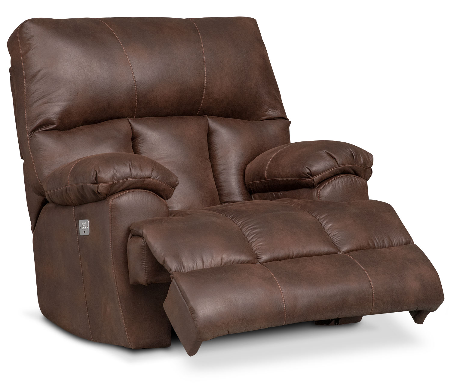 bronco dual power recliner espresso by one80