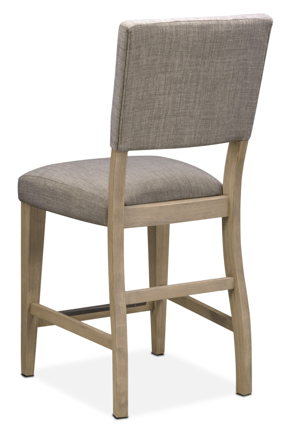 Tribeca Counter Height Upholstered Side Chair Gray