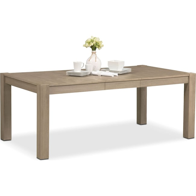 Dining Room Furniture - Tribeca Table - Gray
