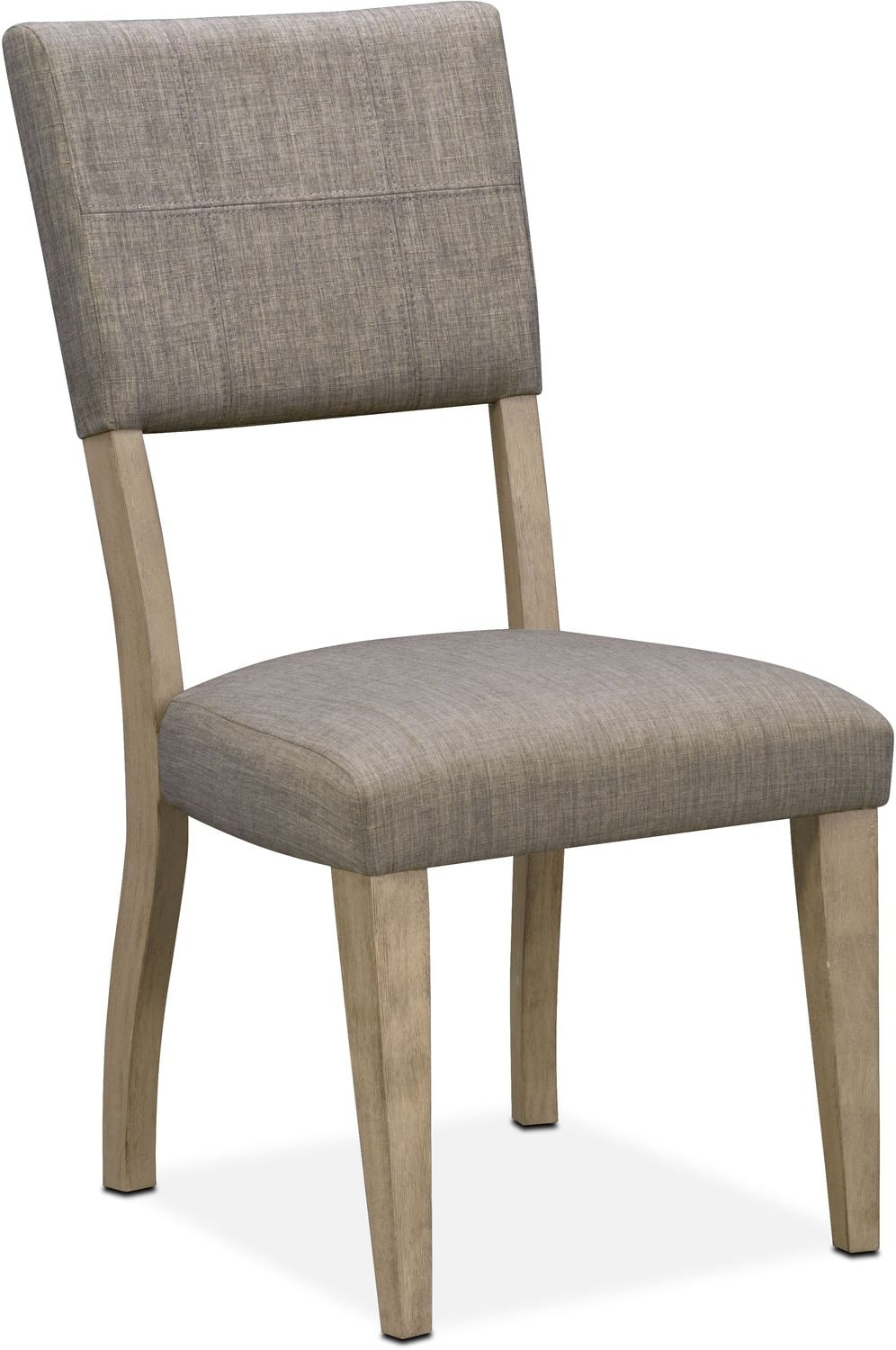 Attrayant Tribeca Upholstered Side Chair   Gray