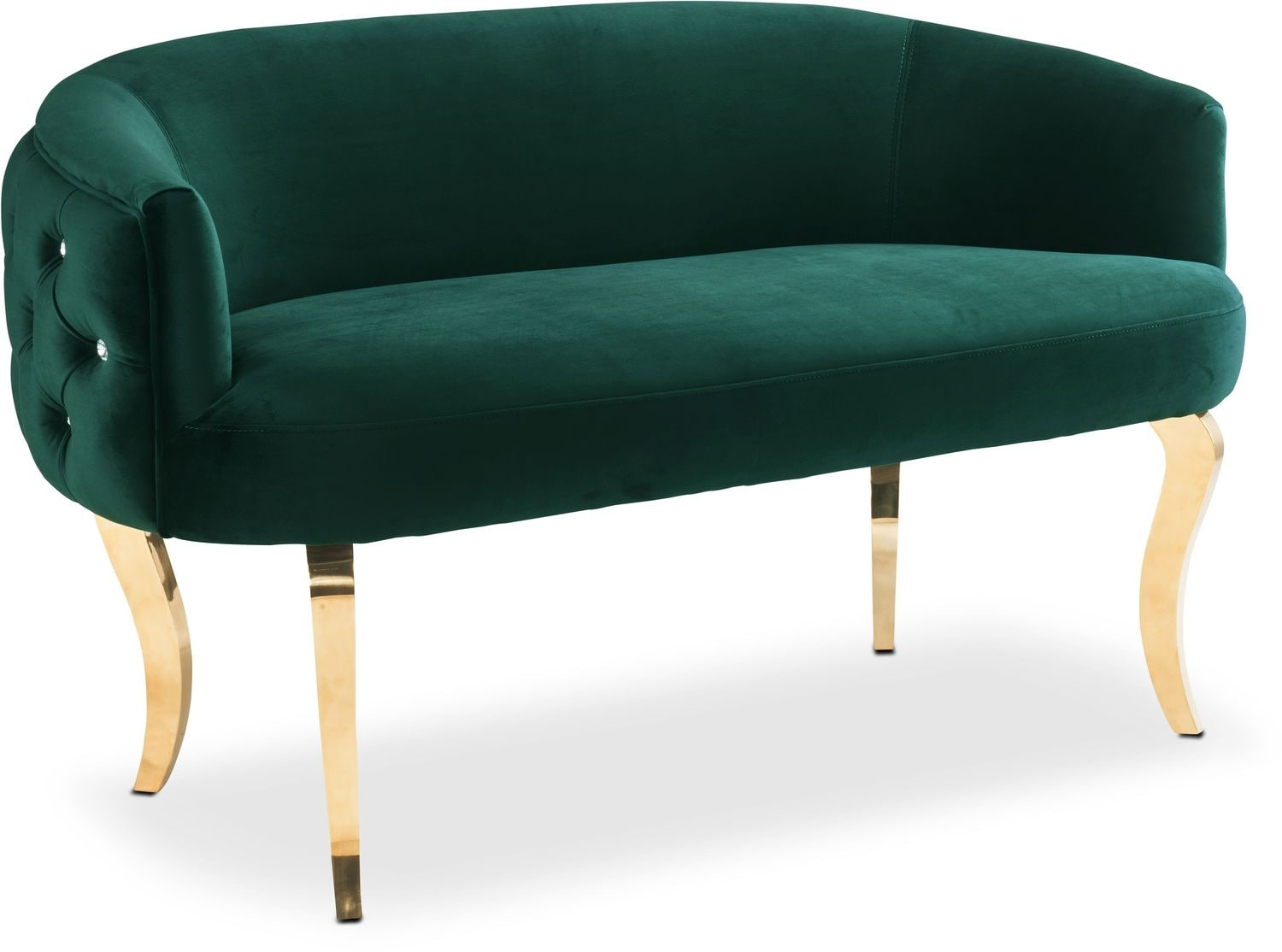 Gisele Bench - Green