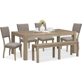 The Tribeca Dining Collection - Gray
