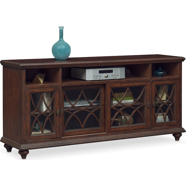 Accent and Occasional Furniture - Rivoli Media Credenza - Brown