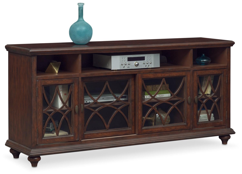 Great Accent And Occasional Furniture   Rivoli Media Credenza   Brown