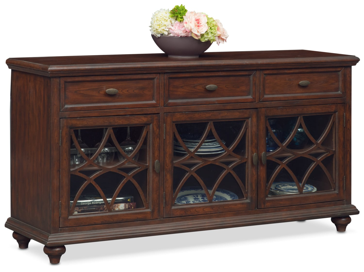 Accent and Occasional Furniture - Rivoli Sideboard - Brown