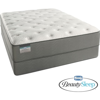 Stags Leap Luxury Firm Full Mattress and Low-Profile Foundation Set