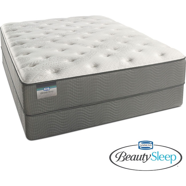 Mattresses and Bedding - Stags Leap Luxury Firm Twin XL Mattress and Low-Profile Foundation Set