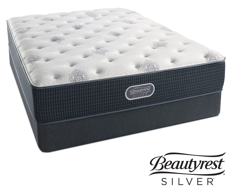 urban mist plush twin mattress and foundation set