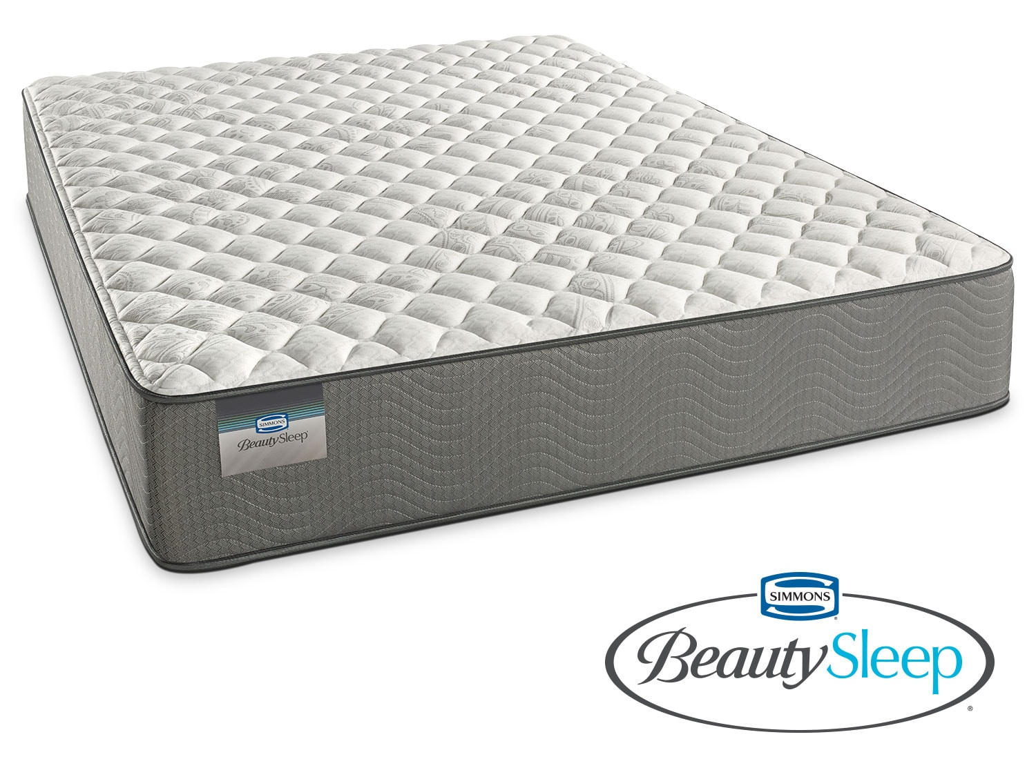 Alpine White Firm Queen Mattress