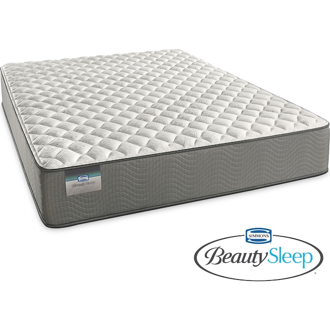 Mattresses and Bedding - Alpine White Firm Queen Mattress