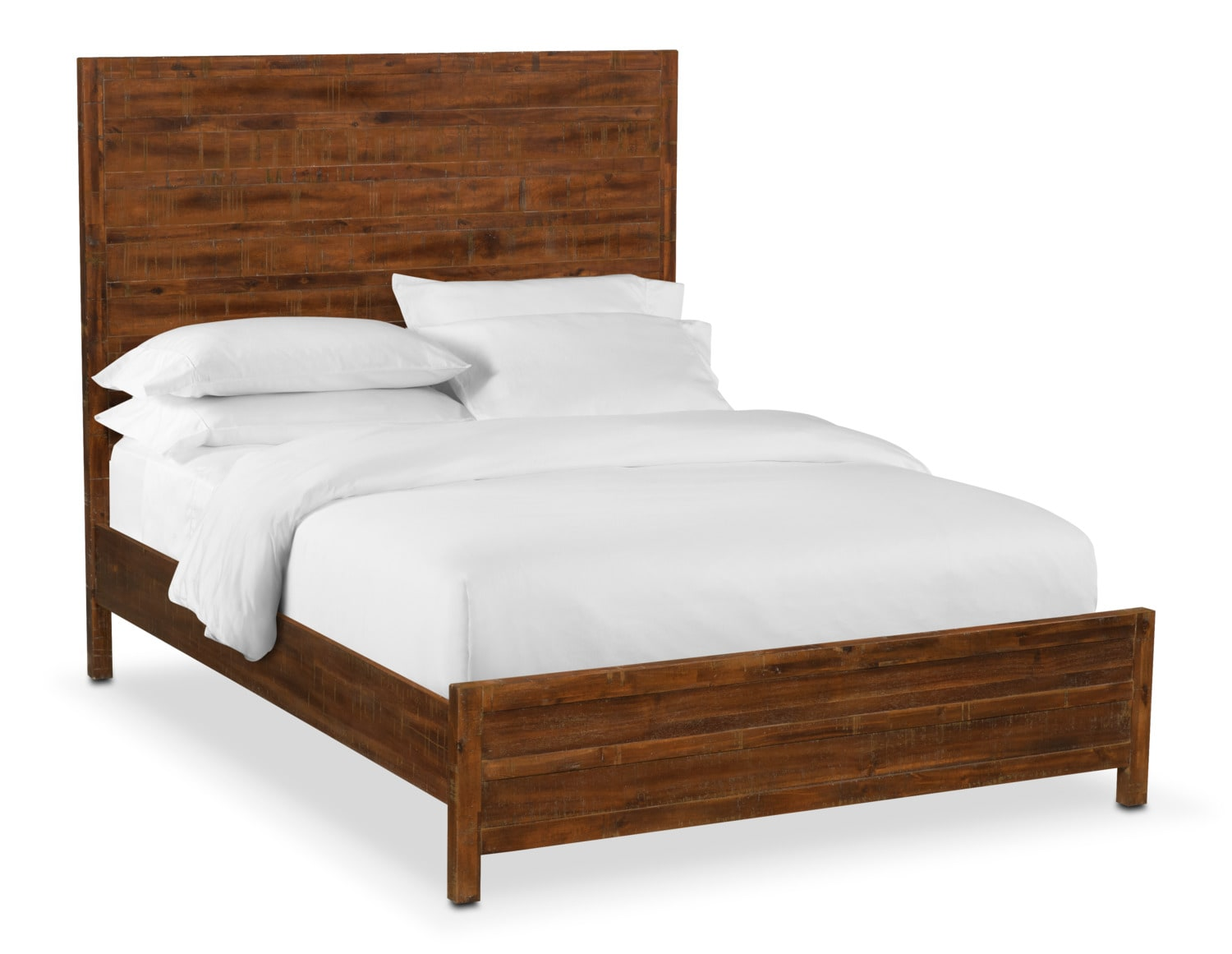 Ryder Queen Bed - Mahogany