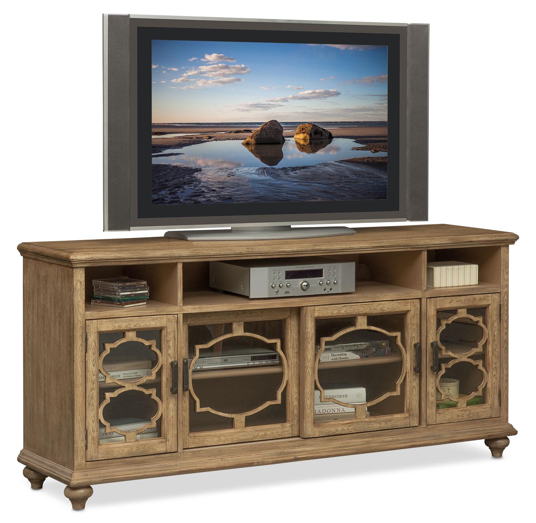 mayfair media credenza natural - Credenza Furniture