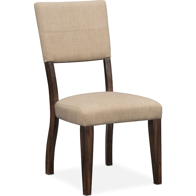 Dining Room Furniture - Tribeca Upholstered Side Chair - Tobacco