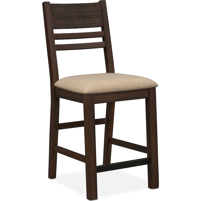 Dining Room Furniture - Tribeca Counter-Height Side Chair - Tobacco