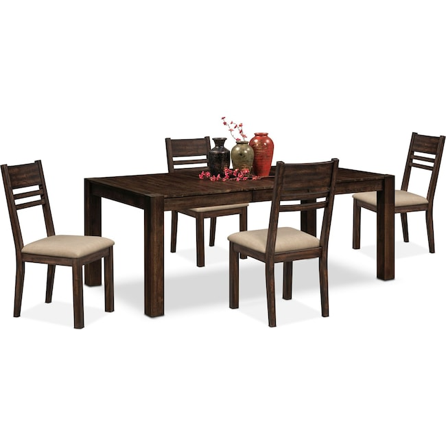 Dining Room Furniture - Tribeca Table and 4 Side Chairs