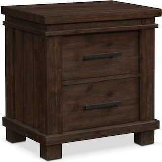 Tribeca Nightstand - Tobacco