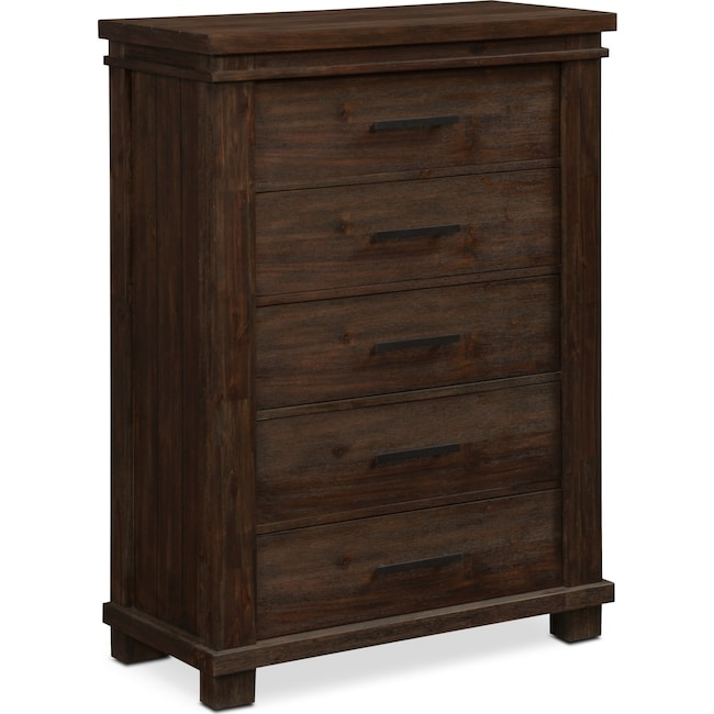 Bedroom Furniture - Tribeca Chest - Tobacco
